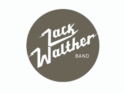 Zack Walther Band Logo country band graphic design logo