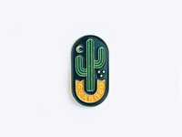 Guarded Enamel Pin