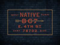 Native Signage