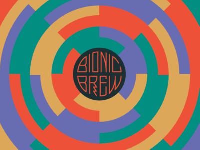 BB I movement china beer bionic radial color design logo logotype