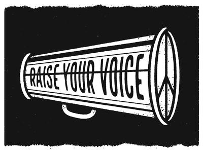 Protest Sign activism first amendment civil duty raise your voice fuck trump america protest sign