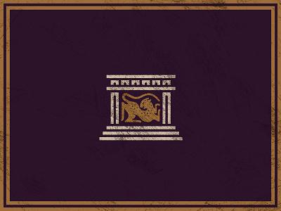 Jaguar Palace simple texture illustration icon design janky cat palace jaguar