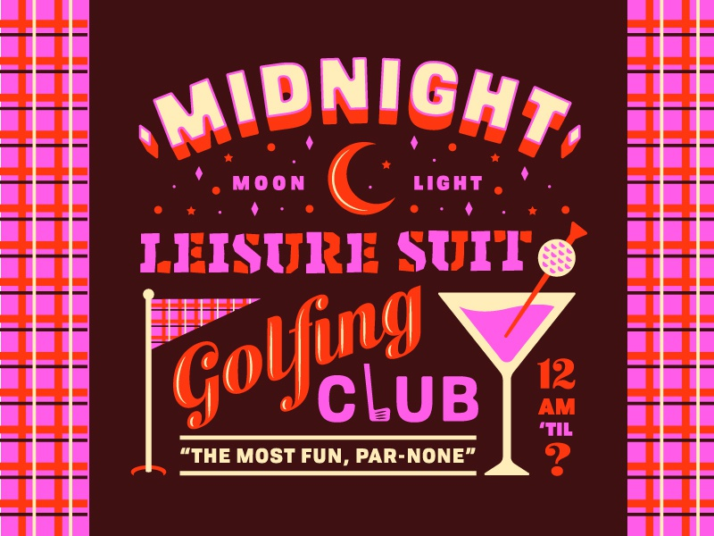 Lost Type Takeover #4 pun dad jokes lost type type cocktail leisure suit golf
