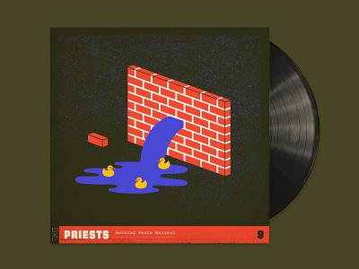 10x17 9 illustration dc punk water rubber ducky bricks 10x17 priests