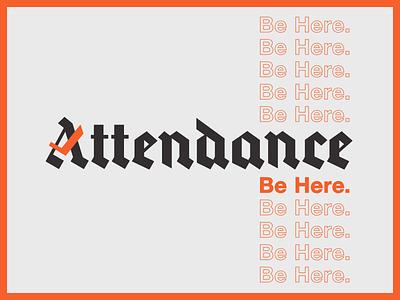 Attendance Records check art music kids blackletter records attendance