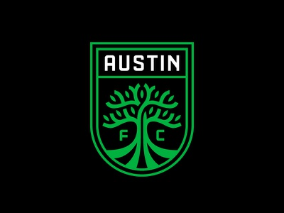 Austin FC soccer austin fc badge brand logo