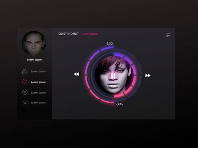Media Widget Music Player