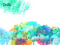 Delhi Illustration