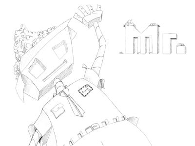 Mr. Carton mr. carton carton character design illustration pascal schmidt schmydt cardboard constructed