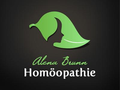 Alena Brunn / Homöopathie logo homöopathie design pascal schmidt schmydt