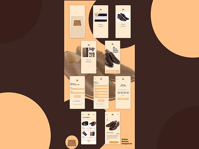 LeathersStore ux figmadesign figmaafrica ecommerce design ecommerce app uidesign uiux