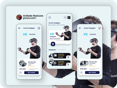 VR APP STORE DESIGN store app branding design ux  ui uidesign figma design