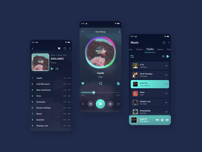 Music Player app ux design ui design applicationdesign uidesign musicplayer appdesign app userexperience userinterface ux uiux ui