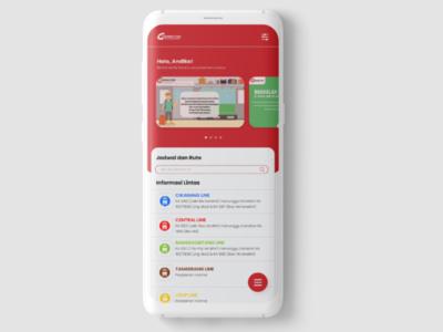 Redesign KRL Access Indonesia App UI