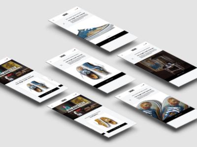 User Interface for Vans Mobile App