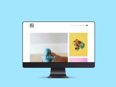 Bzy Box Kid Website Design squarespace design web design web designer graphic designer website designer website design brand designer photography branding photography