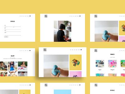 Bzy Box Kid Website Design brand design graphic designer photography branding photography squarespace design website designer web designer website design web design