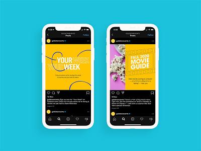 Goldstar - Social Ads social media design social media advertising social media ads social media marketing graphic designer graphic design instagram template instagram post social ads