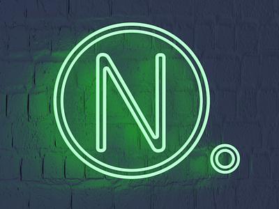 N for Neon - 36 days of type font design illustration typogaphy fonts font 36daysoftype logo branding 3dillustration 3d art 3d