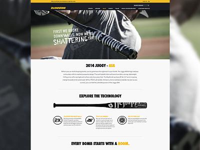 Demarini - Product Details demarini baseball web design joe norton incredipixel free sports commerce e-commerce website design