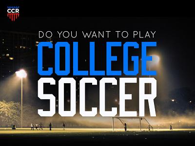 CCR - Sneak Peak incredipixel joe norton logo branding red custom college recruiting ccr basketball recruiting soccer