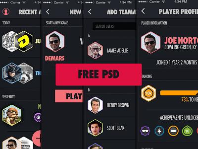 Statslete - PSDs incredipixel infographics feed design app design psd freebie free psds download statslete