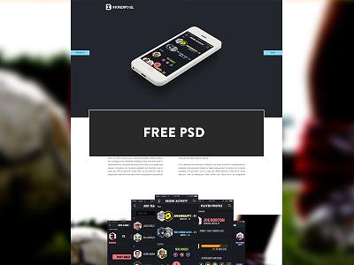 Statslete - Case Study Web PSD incredipixel website photoshop design app design psd freebie free psds download statslete