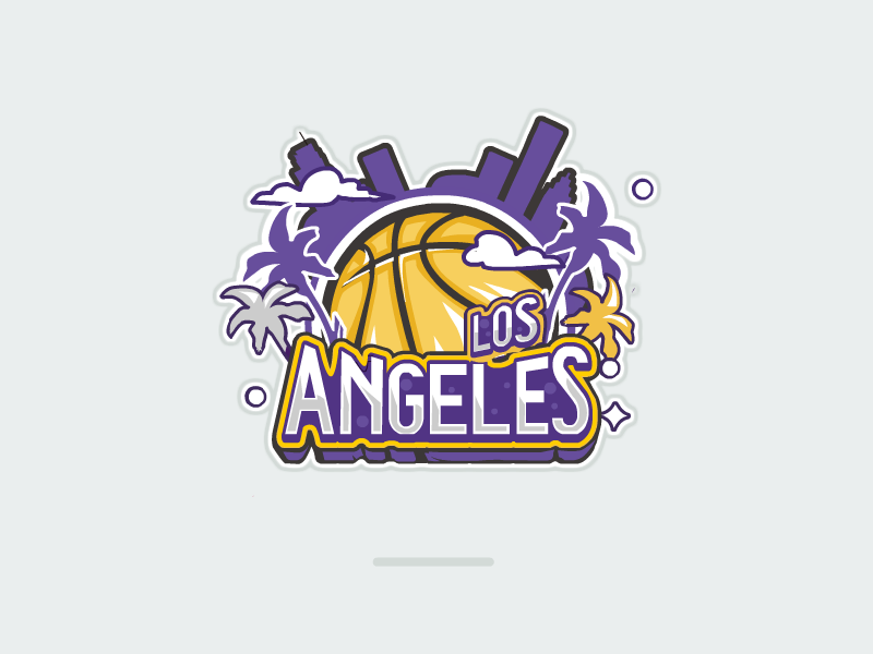 L.A. Lakers angeles lakers,los