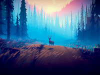 Among Trees Early Access animation trees forest game environment unity 3d among trees