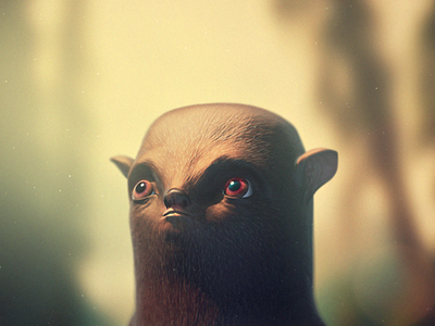 Creatures of the Wild 3d cinema 4d character creature color correction sculpting modelling c4d