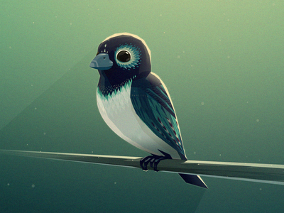 Bird by Mikael Gustafsson - Dribbble