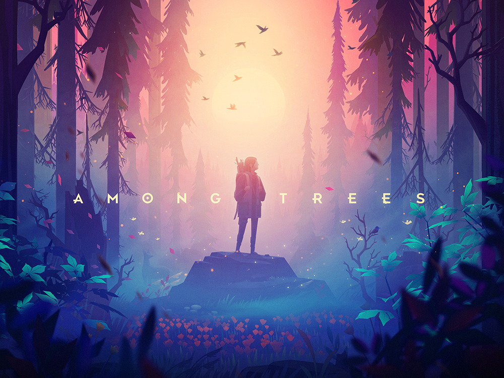 Among Trees - closed pre-alpha character survival environment illustration trees forest game unity 3d among trees
