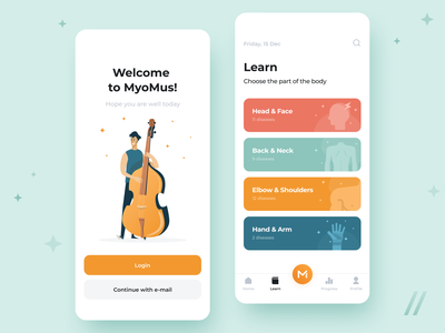 App for Musicians Design artists music startup online mvp react native mobile ux ui purrweb design app