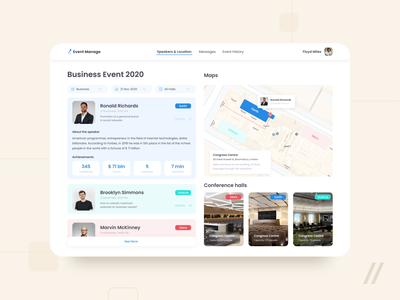 Event Management Platform Design web event management event app management system management app manage manager managment event online mobile ux ui purrweb design app