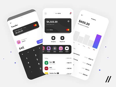 Banking App payments finance app fintech banking app startup mvp online react native mobile ux ui purrweb design app