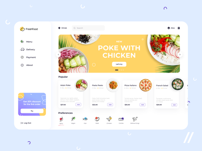 Food Delivery App Design ui  ux uiux food app order food delivery food delivery application food delivery app food delivery service food delivery food startup mvp online react native mobile ux ui purrweb design app