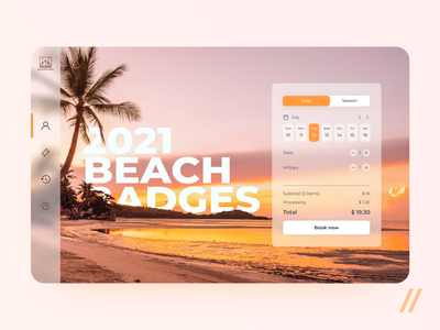 Private Beach Pass Booking App booking app booking ticket booking ticket app tickets ticket private beach beach animation web startup mvp online react native mobile ux ui purrweb design app