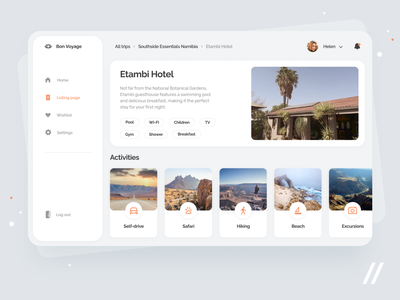 Trip Organizer App travel booking wishlist organizer journey vacation holiday trip trip planner web startup mvp online react native mobile ux ui purrweb design app