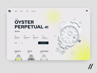 Online Watch Shop brand shopping cart shop ecommerce shop catalog watch ecommerce marketplace landing web startup mvp online react native mobile ux ui purrweb design app