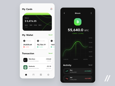 Banking App trading app crypto wallet wallet graphs investment app investing cryptocurrency finance app fintech app finance fintech startup mvp online mobile ux ui purrweb design app