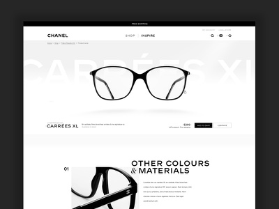 Shop Eyewear shop ecommerce