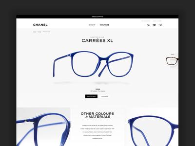 Shop Eyewear shop ecommerce