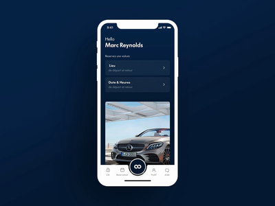 Toosla App / Rental Car / test card toosla mercedes app car rent car