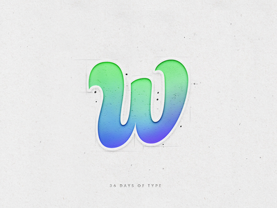 w illustration 36daysoftype design calligraphy type lettering