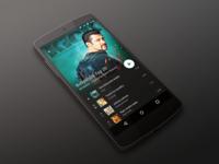 Music App - Material design