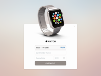 iWatch Payment Card