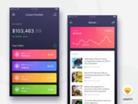 Crypto Portfolio App - stay organised