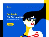 Expedia web header   concept