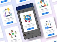 App Update Popups - Hike Sticker Chat