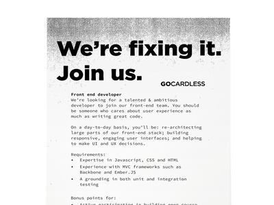Jobs flyer (back)